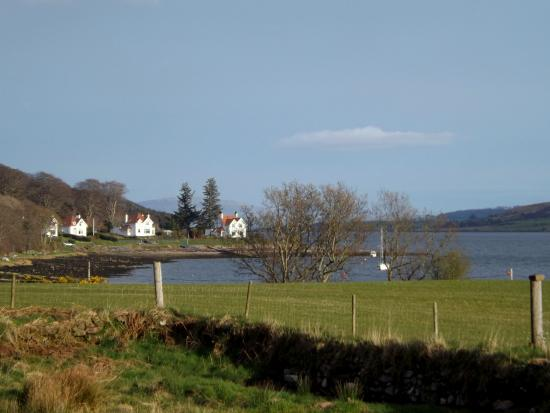 Colintraive, UK: View from the window