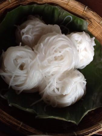 Phrae, Thailand: ขนมจีน