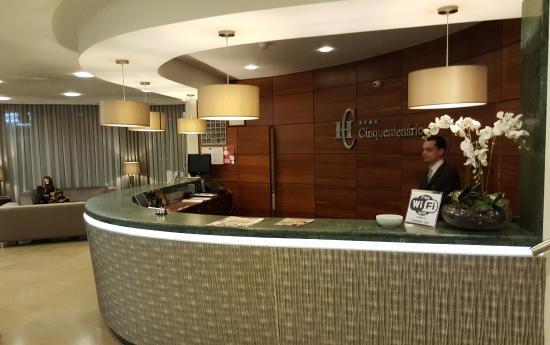 Cinquentenario Hotel: Reception