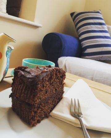 Newlyn, UK: Chocolate Cake