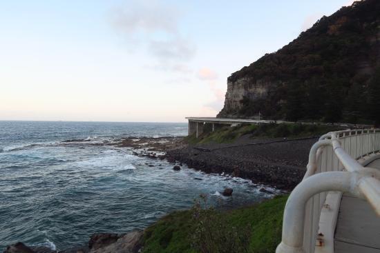 Вуллонгонг, Австралия: The Seacliff bridge