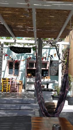 Aegiali, Grecja: Starting the season in Amorgis. New atmosphere for 2016!!!