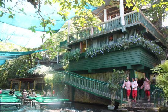Labasin Waterfall Restaurant Picture Of Villa Escudero