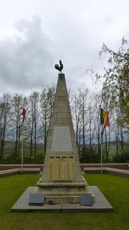 Frans ossuarium Kemmelberg - Heuvelland