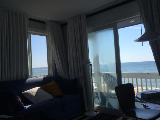 king size bed studio picture of montauk blue hotel. Black Bedroom Furniture Sets. Home Design Ideas