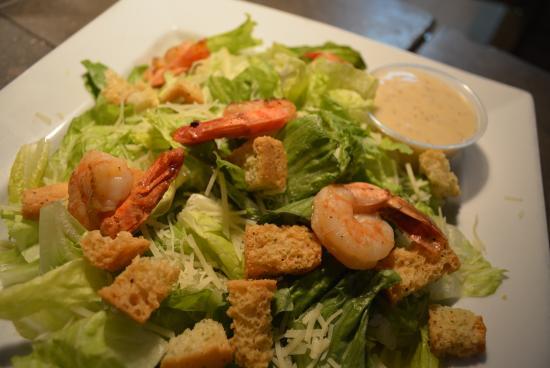 Bloomsburg, PA: Shrimp Caesar Salad