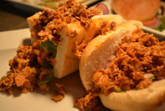 Bloomsburg, Pensilvania: Buffalo Chicken Sandwich