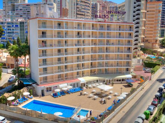 Sol pelicanos ocas by melia benidorm spain hotel reviews photos price comparison - Apartamentos picasso benidorm ...