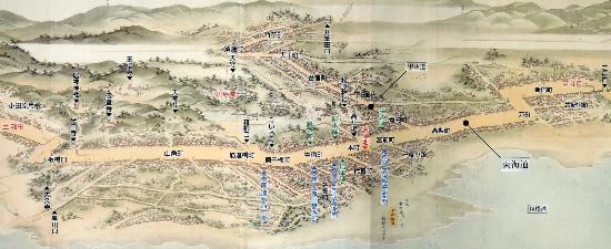 Tokaido Odawara Shuku