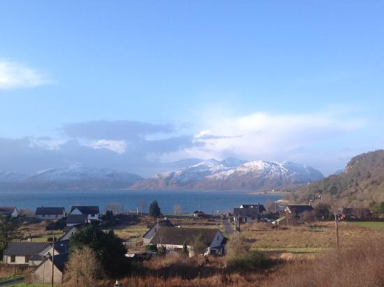 North Ballachulish, UK: View from the Studios