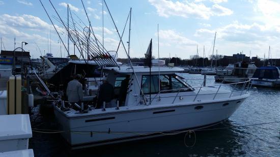 WindyCitySalmon: His Boat.