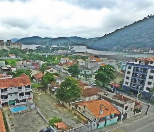 Itacurussa, RJ: Pousada das ilhas vista pelo alto!