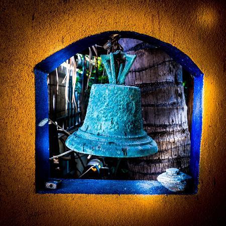 Palapas Resort: Door bell