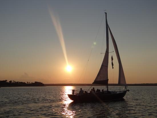Harwich, MA: Sunset sail