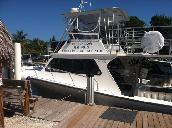 Tavernier, FL: Our dive boat.