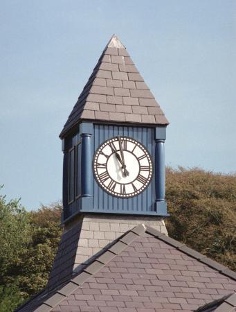 Llangefni, UK: The Clock Tower