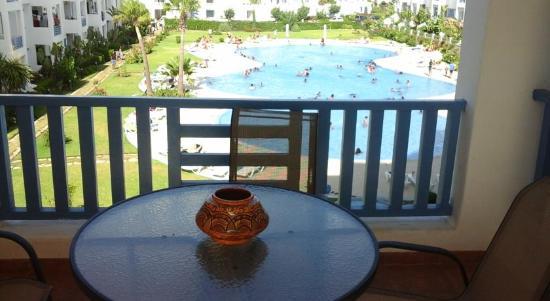 M'Diq, Marruecos: Balcon
