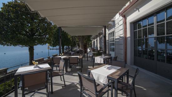 Terrazza sul lago - Picture of Park Hotel Italia, Cannero Riviera ...