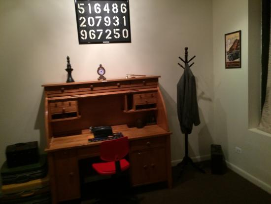We have matching Library escape rooms, which we can setup for ...