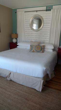 Woods Hole, ماساتشوستس: Comfy bed