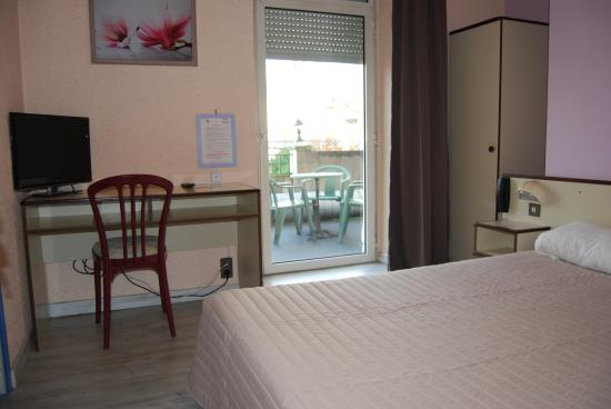 Citotel Jalade : chambre single (simple 1 pers)