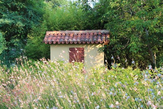 Caupenne-d'Armagnac, France: Poolhouse