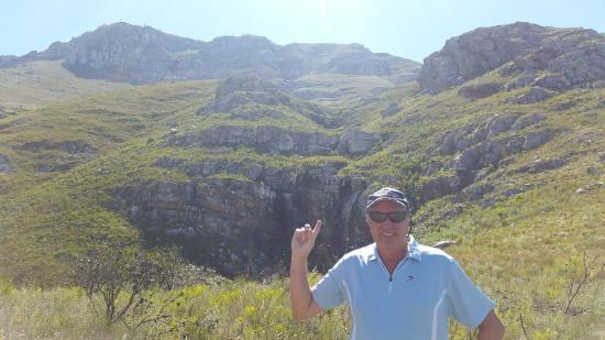 Greyton, Sudáfrica: We were way up there...