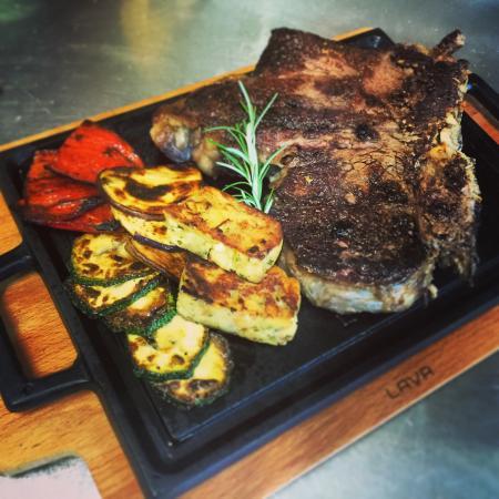 Sezana, Eslovenia: T-bon steak. 21days aged.