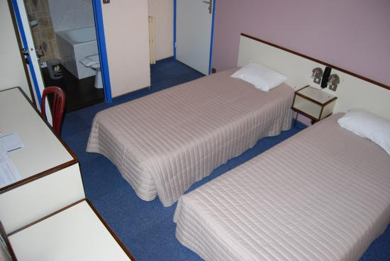 Citotel Jalade: chambre twin