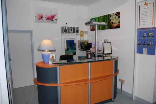 Citotel Jalade: reception