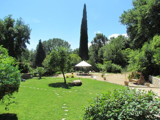 Bastide Valmasque: jardin