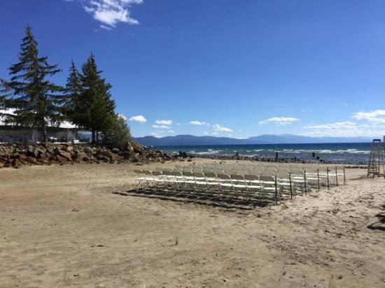 Tahoe Vista, CA: Weddings and events at The Franciscan
