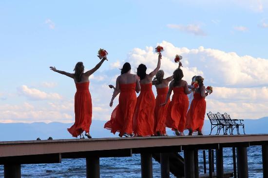 Tahoe Vista, CA: Weddings at The Franciscan