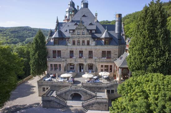 Schloss Hotel Wolfsbrunnen: Außenansicht
