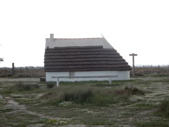 Une reconstitution de maison de gardien picture of musee for Maison de la camargue