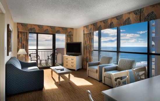 The Breakers Resort Oceanfront Living Room