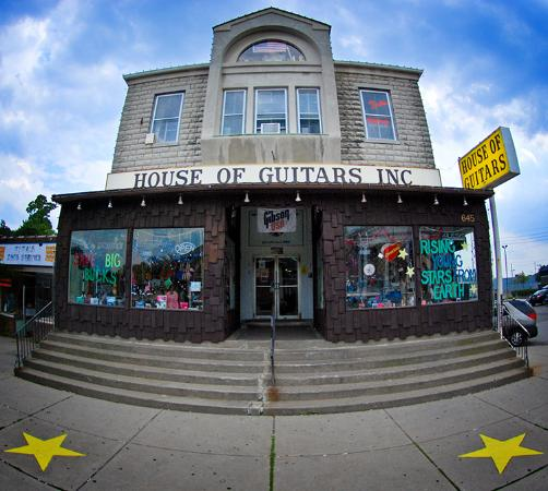 The House of Guitars