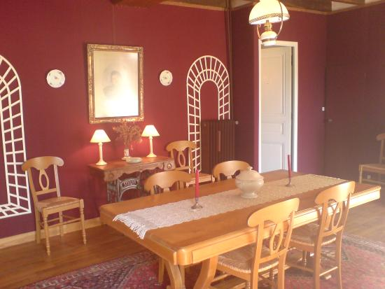 Saint-Fargeau, Francja: Salle du petit-déjeuner