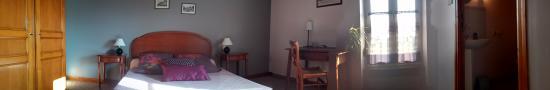 La Croix Galliot : Chambre violette