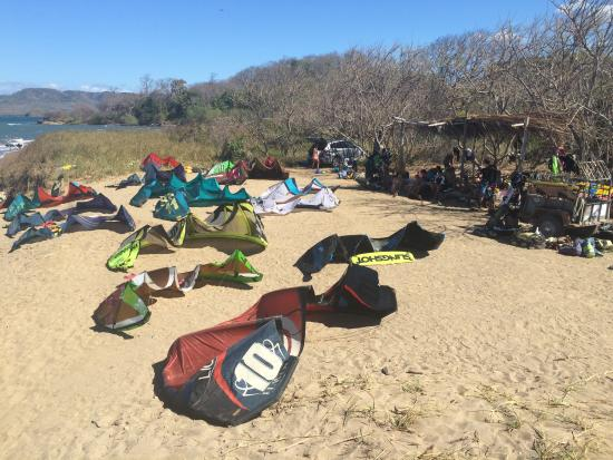 La Cruz, Κόστα Ρίκα: OUR KITEBEACH SPOT