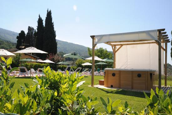 Podere Piana: jacuzzi outdoor free and area pool