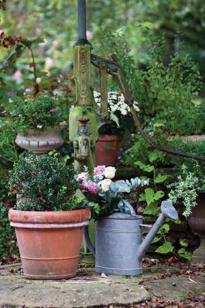 Saint-Georges-sur-Cher, Fransa: jardin