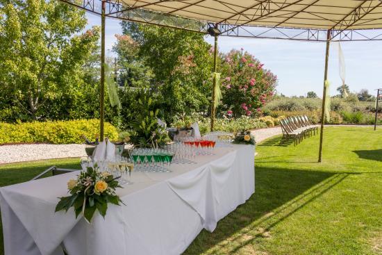 Salgareda, Italien: Buffet