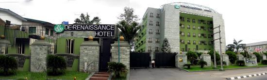 De Renaissance Hotel: Hotel Front View Landscape