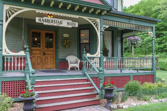Habberstad House Front Porch