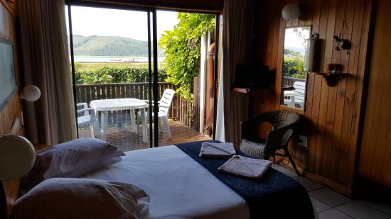 Lakeside Knysna Accomodation: Typical Double suite interior