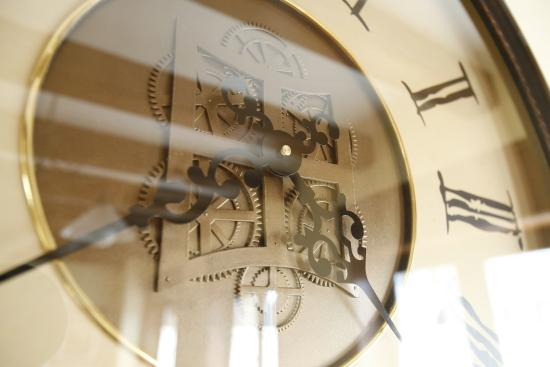 Santa Eulalia de Gállego, España: Reloj de Casa Felisa