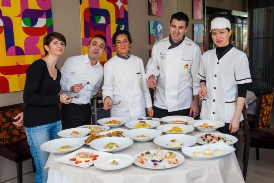 ألبيرجو ريستورانتي بروتي: Degustazione dei nuovi piatti prima di essere proposti ai clienti
