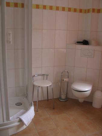 Hessischer Hof: Schönes Badezimmer