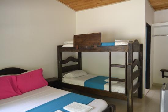 Hotel Rio Alto: Habitación Cuádruple